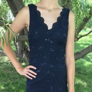 Prom Dress/Evening Gown-Size 9